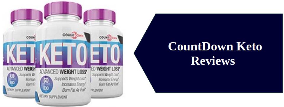 CountDown Keto Weight Loss Pills